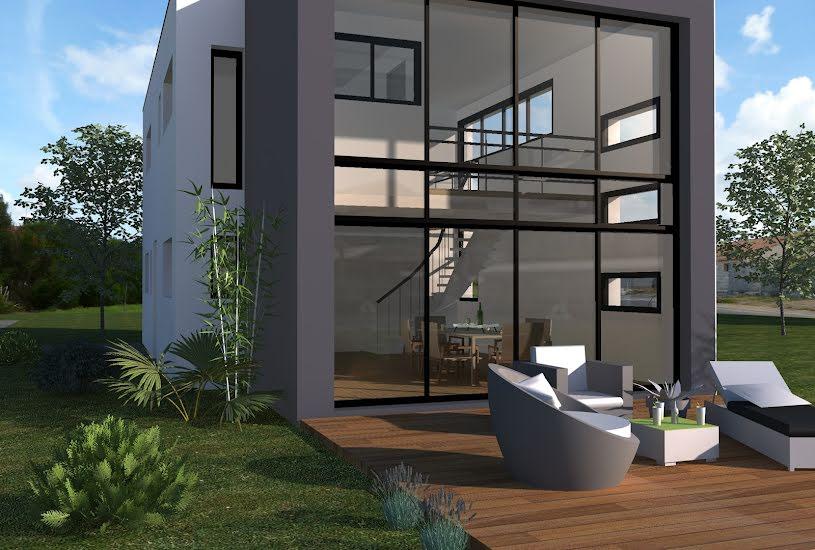 Vente Terrain + Maison - Terrain : 615m² - Maison : 128m² à Moisdon-la-Rivière (44520)