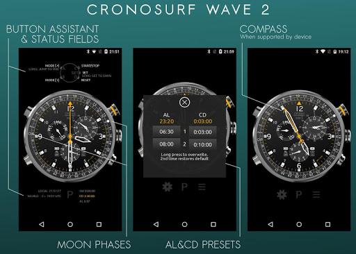Cronosurf Wave watch 2.2.1 screenshots 2