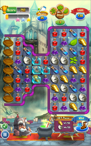 Magic Blender - Magic Potions - Match 3 apktram screenshots 4