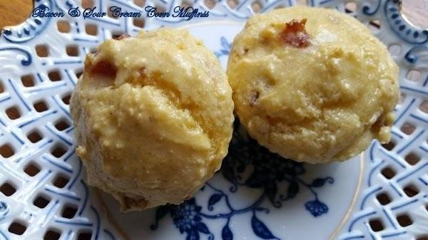~ My Bacon & Sour Cream Corn Muffins ~ Recipe