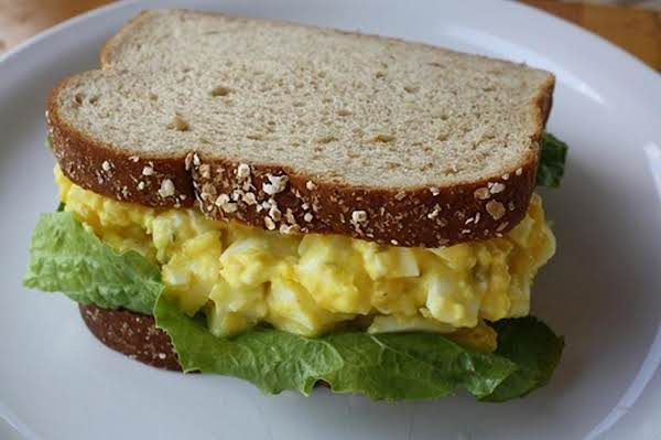 French Style Egg Salad Sandwich