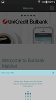 Screenshot of Bulbank mobile