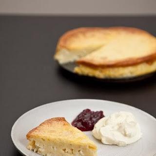 Ostkaka - Swedish Cheesecake.
