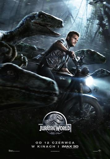 Polski plakat filmu 'Jurassic World'