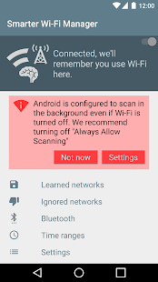 Smarter WiFi Manager Screenshot