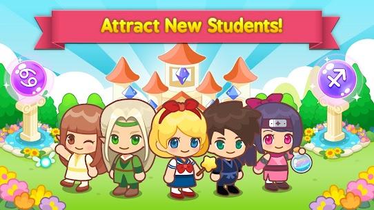Magic School Story MOD (Unlimited Gems) 3