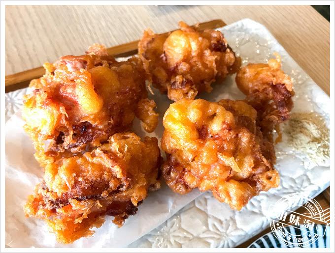柒壹喫堂雙味飯糰佐唐揚雞