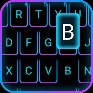 Emoji Smart Neon keyboard