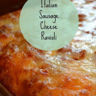 Italian Sausage Ravioli.