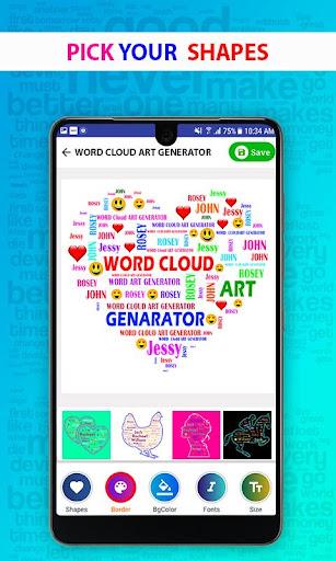 Word Cloud Art Generator screenshot 11