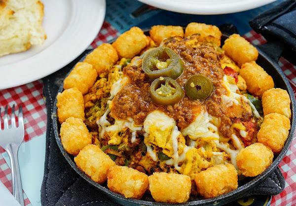 起司爆量墨西哥風炒蛋! 道地美國南方味-阿肯瑟餐車Arkansas Diner