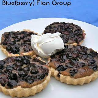 Blueberry Flan Group.
