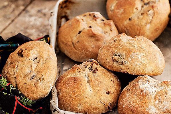 Pão de Azeitona e Nozes