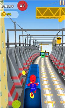 Spider Subway Surfers