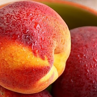Peach Jam spiced with Crystallized Ginger