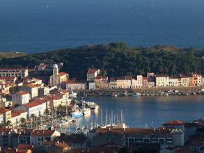 Photo: Port-Vendres déjà au soleil