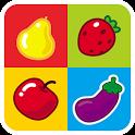 Puzzle Buah dan Sayur icon