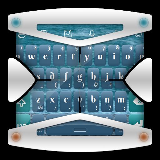 冷凍水 TouchPal Theme 個人化 App LOGO-APP試玩