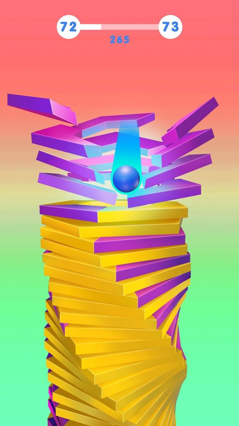 Stack Ball – Blast Through Platforms (MOD, Unlocked) 4