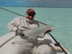 Photo: Regular Steve Ford with a huge.....13.5lb bonefish- MRO Spring 2012