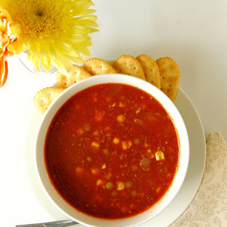 Hearty Vegetable Beef Soup.