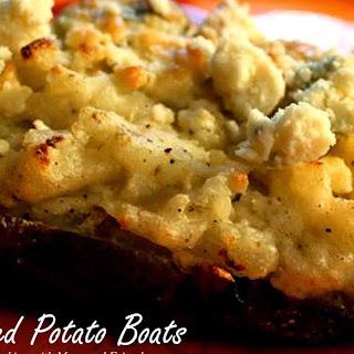 Twice Baked Potato Boats.