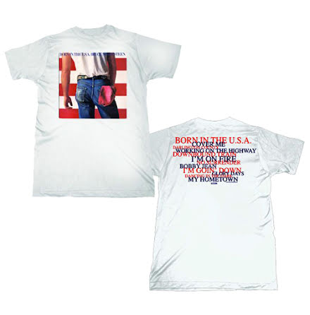 T-Shirt - Born In The Us