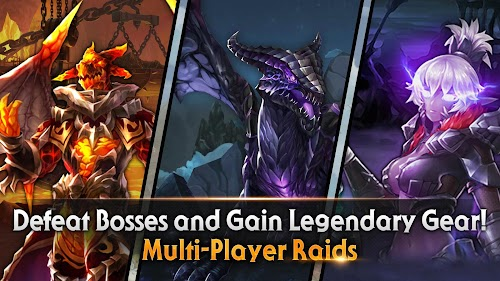 Screenshot 4 King's Raid 3.26.0 APK MOD