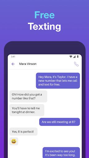 Text Free: Free Text Plus Call 8.57 screenshots 3