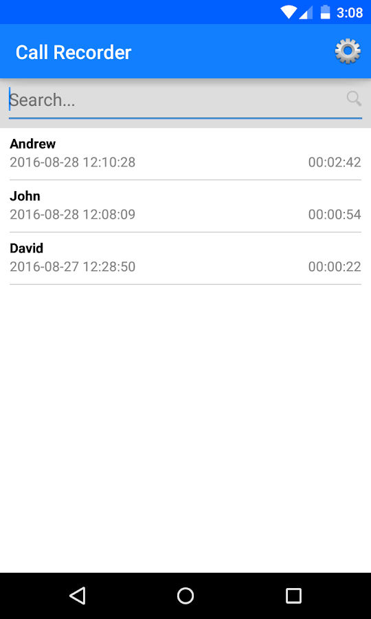 Automatic Live Call Recorder- screenshot