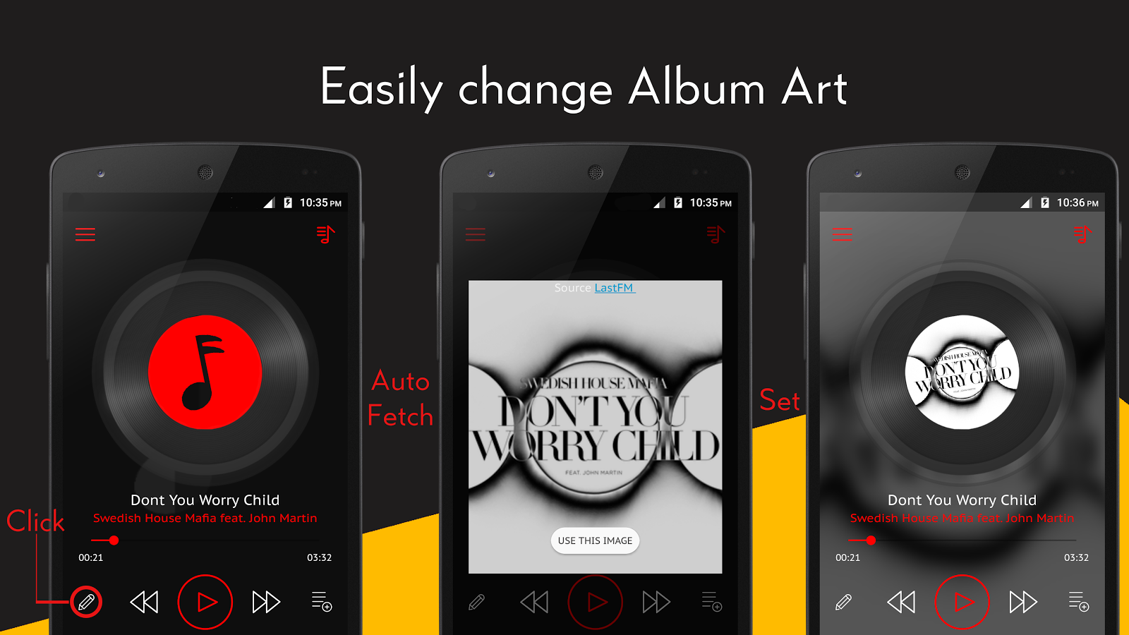 Crimson Music Player - MP3, Lyrics, Playlist- screenshot