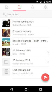 File transfer by Infinit Screenshot 4