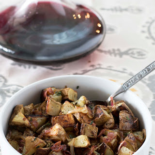 Roasted Potatoes with Pancetta and Fresh Herbs