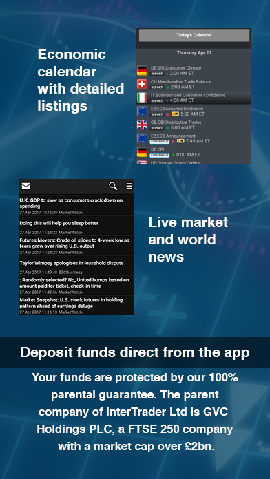 InterTrader – Trading App- screenshot