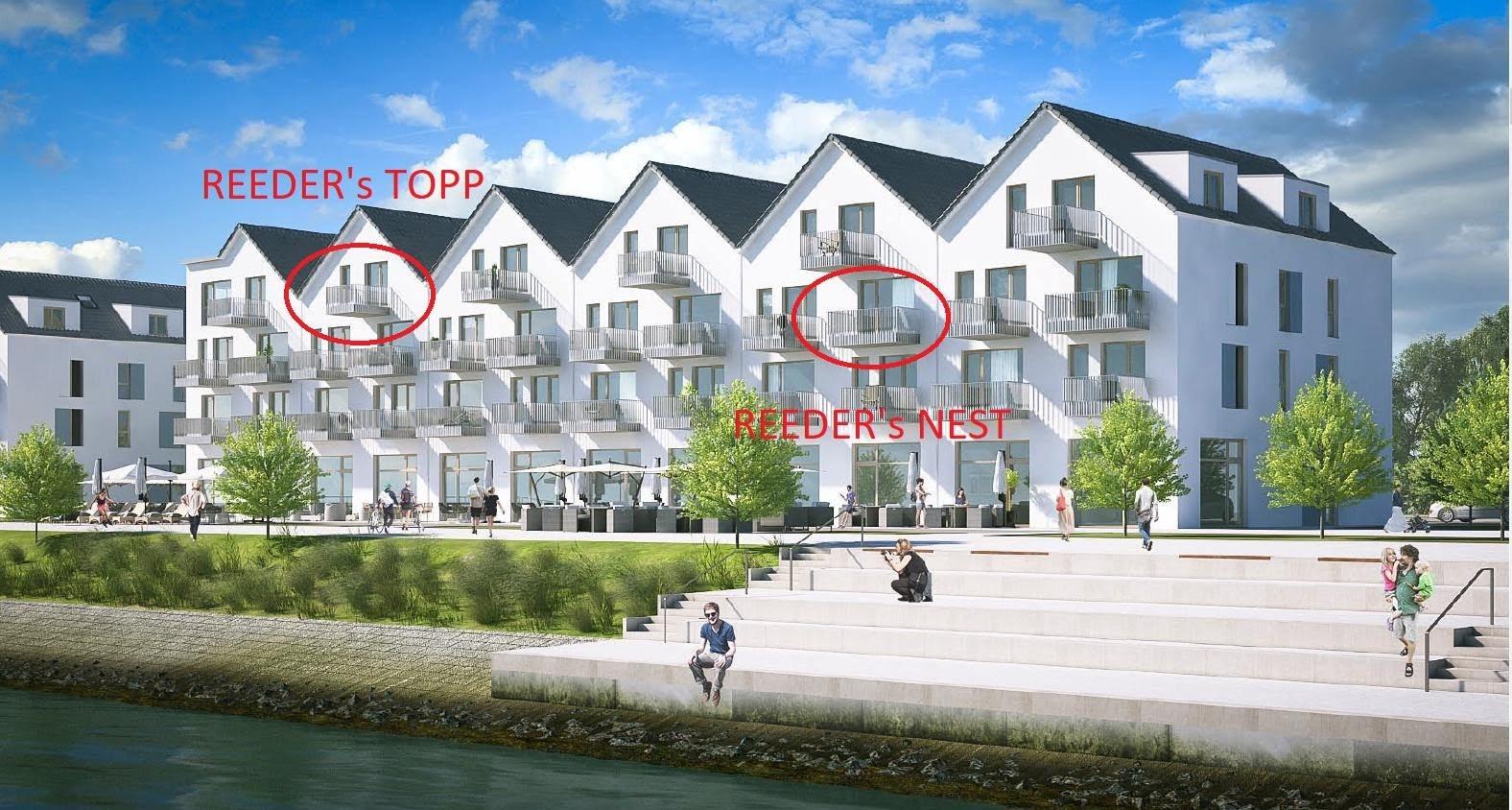Haus Klabautermann Ferienwohnungen Reeders Topp und Reeders Nest im OstseeResort Olpenitz