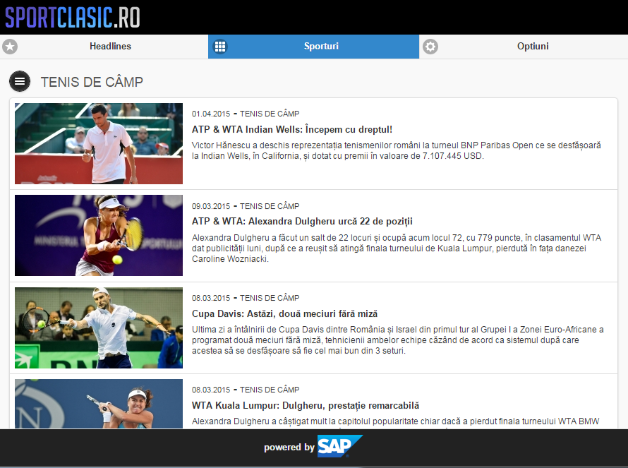 SportClasic- screenshot