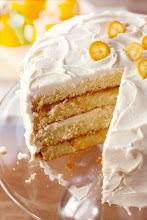 Photo: Orange Chiffon Layer Cake - For the recipe, go to: http://bit.ly/HcK3e7