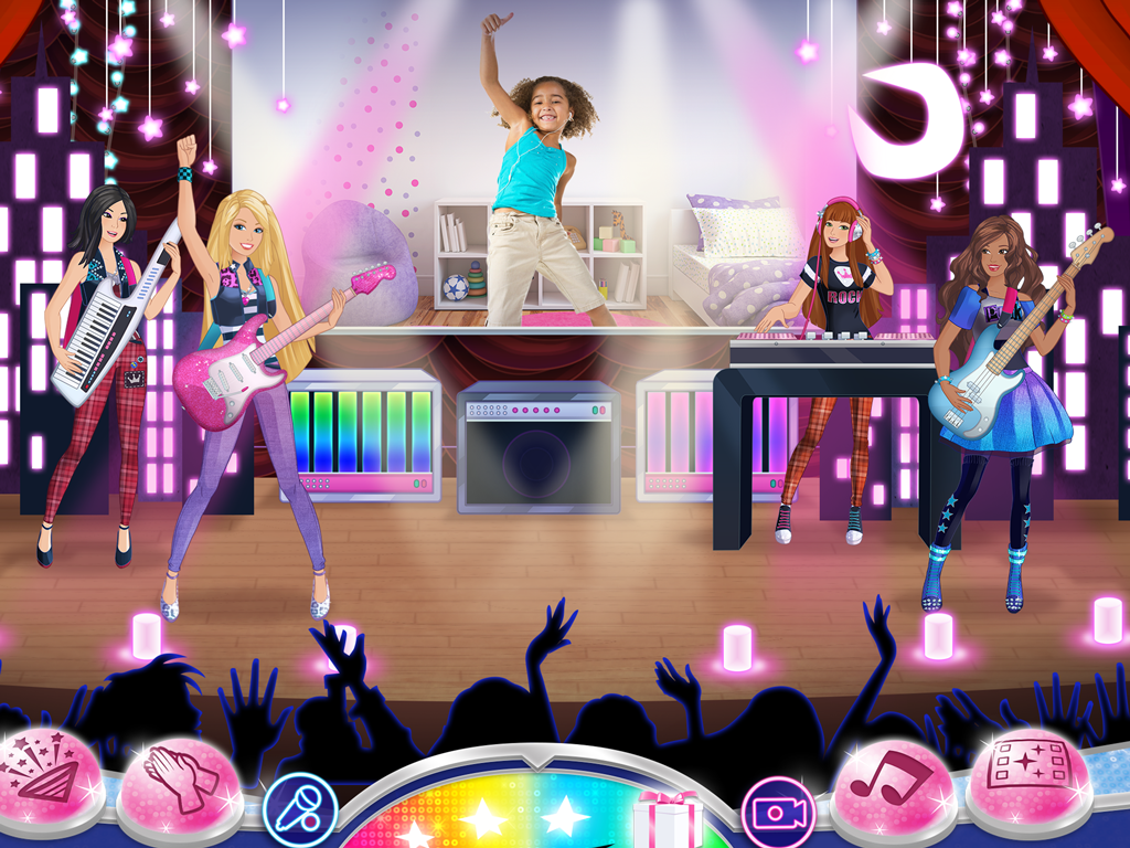 Barbie Superstar! Music Maker- screenshot