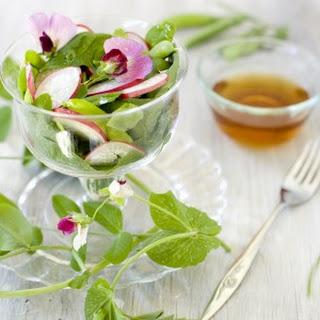 Radish Sweet Pea Salad