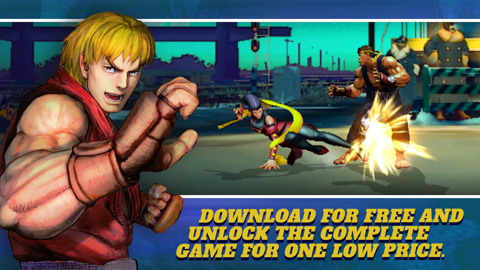 Street Fighter IV Champion Edition- screenshot