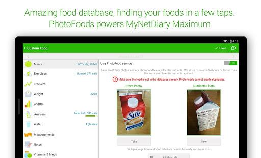 Calorie Counter - MyNetDiary 6.6.3 screenshots 21