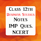 Class 12 Business Studies Exam Guide - 2019 (CBSE) Download on Windows