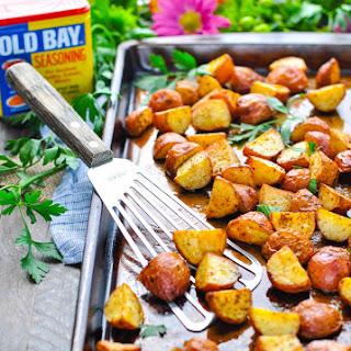 3-ingredient Crispy Seasoned Red Potatoes.