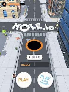 Hole.io Screenshot