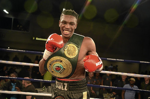 Thulane 'Evolution' Mbenge won his fourth title against Diego Chaves of Argentina.