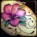 Flower Tattoo Design icon
