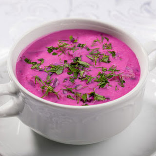 Tarragon Beet Soup