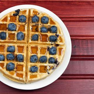 Better Blueberry Waffles