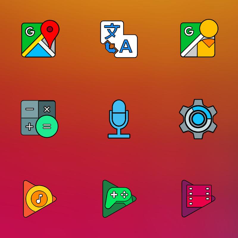 CRISPY HD - ICON PACK Screenshot 5