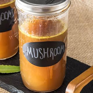 Roasted Mushroom Stock.